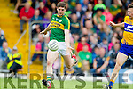 Killian Young Kerry in action against Clare in the Munster Senior Football Championship at Fitzgerald Stadium in Killarney on Sunday.
