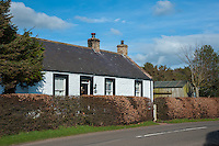 Scottish cottage at Brow Well, Ruthwell, Dumfries and Galoway, Scotland.
