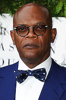 Samuel L Jackson<br /> arrives for the One for the Boys charity fashion event at the V&amp;A Museum, London.<br /> <br /> <br /> &copy;Ash Knotek  D3133  12/06/2016