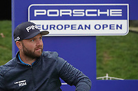 Andy Sullivan (ENG) in action during the first round of the Porsche European Open , Green Eagle Golf Club, Hamburg, Germany. 05/09/2019<br /> Picture: Golffile | Phil Inglis<br /> <br /> <br /> All photo usage must carry mandatory copyright credit (© Golffile | Phil Inglis)