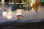 #24 William Byron  during NASCAR's Burnout Blvd. Driven By Goodyear