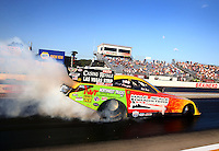 Aug. 16, 2013; Brainerd, MN, USA: NHRA funny car driver Bob Bode during qualifying for the Lucas Oil Nationals at Brainerd International Raceway. Mandatory Credit: Mark J. Rebilas-