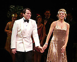 Matthew Broderick & Kelli O'Hara.during the Broadway Opening Night Curtain Call for  'Nice Work If You Can Get It' at the ImperialTheatre on 4/24/2012 in New York City.
