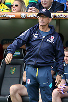 Middlesbrough manager Tony Pulis during Norwich City vs Middlesbrough, Sky Bet EFL Championship Football at Carrow Road on 15th September 2018