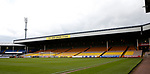 General view of the GMB sponsored stand during the English League One match at Vale Park Stadium, Port Vale. Picture date: April 14th 2017. Pic credit should read: Simon Bellis/Sportimage