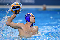 3 FATOVIC Loren Croatia  <br /> Budapest 14/01/2020 Duna Arena <br /> CROATIA (white caps) Vs. GERMANY (blue caps) Men  <br /> XXXIV LEN European Water Polo Championships 2020<br /> Photo  © Andrea Staccioli / Deepbluemedia / Insidefoto
