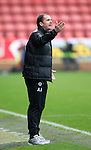 Partick Thistle v St Johnstone....25.10.14   SPFL<br /> Partick manager Alan Archibald<br /> Picture by Graeme Hart.<br /> Copyright Perthshire Picture Agency<br /> Tel: 01738 623350  Mobile: 07990 594431