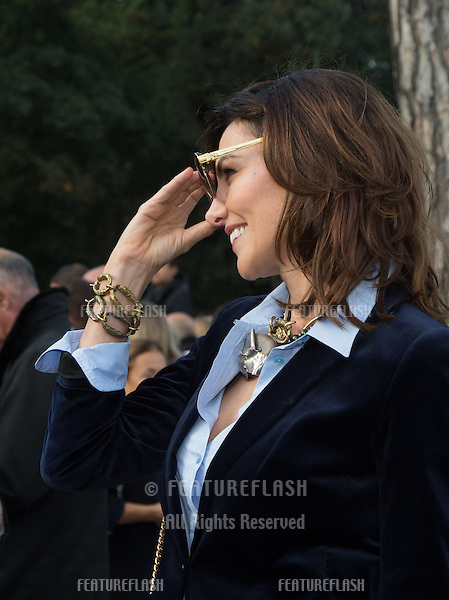 Adriana Abascal attend Louis Vuitton Show Front Row - Paris Fashion Week  2016.<br /> October 7, 2015 Paris, France<br /> Picture: Kristina Afanasyeva / Featureflash