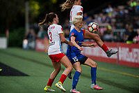 Seattle, WA - Wednesday, June 28, 2017: Megan Rapinoe during a regular season National Women's Soccer League (NWSL) match between the Seattle Reign FC and the Chicago Red Stars at Memorial Stadium.