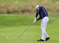 Michael Hoey (NIR) on the 3rd fairway during Round 2 of the 100th Open de France, played at Le Golf National, Guyancourt, Paris, France. 01/07/2016. <br /> Picture: Thos Caffrey | Golffile<br /> <br /> All photos usage must carry mandatory copyright credit   (&copy; Golffile | Thos Caffrey)