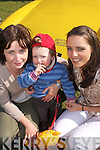 Show: Having a great day at the Easter Vintage Rally in Killarney on Sunday were Elizabeth Galvin, Tadgh Galvin and Bridget Conway of Lixnaw..