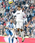 Real Madrid's Raphael Varane during La Liga match.January 06,2013. (ALTERPHOTOS/Acero)