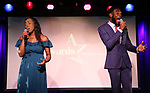 Taylor Harris and Denzel Fields  during The Third Annual SDCF Awards at The The Laurie Beechman Theater on November 12, 2019 in New York City.