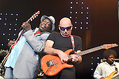 Jul 28, 2014: JOE SATRIANI and LUCKY PETERSON - Jazz in Marciac France