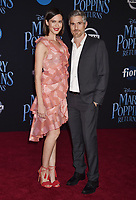 LOS ANGELES, CA - NOVEMBER 29: Odette Annable and Dave Annable attend the Premiere Of Disney's 'Mary Poppins Returns' at El Capitan Theatre on November 29, 2018 in Los Angeles, California.<br /> CAP/ROT/TM<br /> &copy;TM/ROT/Capital Pictures
