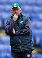 London Irish's Head Coach Declan Kidney<br /> <br /> Photographer Bob Bradford/CameraSport<br /> <br /> Aviva Premiership Round 20 - London Irish v Exeter Chiefs - Sunday 15th April 2018 - Madejski Stadium - Reading<br /> <br /> World Copyright &copy; 2018 CameraSport. All rights reserved. 43 Linden Ave. Countesthorpe. Leicester. England. LE8 5PG - Tel: +44 (0) 116 277 4147 - admin@camerasport.com - www.camerasport.com