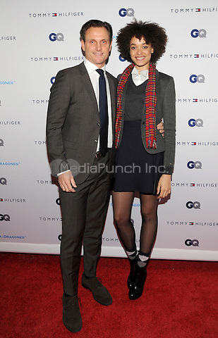 New York, NY- December 11:  Tony Goldwyn and Britne Oldford  attends the Tommy Hilfiger and GQ event honoring The Men Of New York at the Tommy Hilfiger Flagship on December 11, 2014 in New York City. Credit: John Palmer/MediaPunch