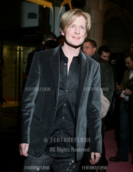 Gerard McCarthy  arriving for the  Legally Blonde: The Musical Gala Night at the Savoy Theatre, London.  14/01/2010  Picture by: Alexandra Glen / Featureflash