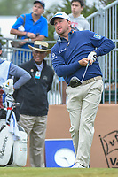 Graeme McDowell (NIR) watches his tee shot on 10 during Round 3 of the Valero Texas Open, AT&amp;T Oaks Course, TPC San Antonio, San Antonio, Texas, USA. 4/21/2018.<br /> Picture: Golffile | Ken Murray<br /> <br /> <br /> All photo usage must carry mandatory copyright credit (&copy; Golffile | Ken Murray)