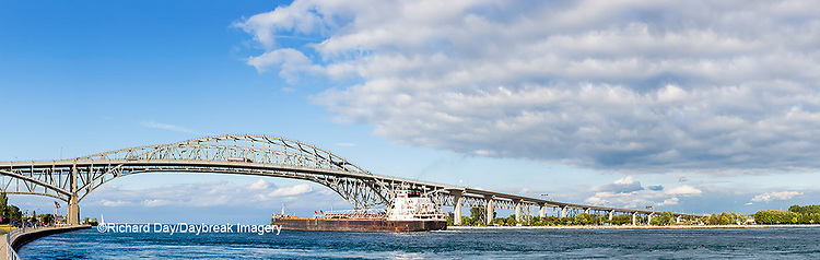64795-01605 Ship and Blue Water Bridge Port Huron, MI