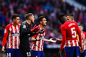 2nd December 2017, Wanda Metropolitano, Madrid, Spain; La Liga football, Atletico Madrid versus Real Sociedad; celebrates the (0,1) after scoring his team´s goal