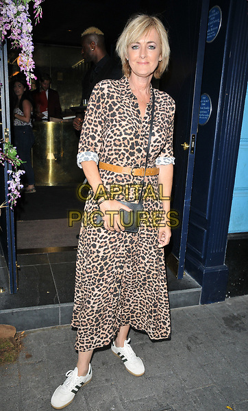 """Jane Moore at the """"The Thunder Girls"""" book launch party, The Court, Kingly Street, London, England, UK, on Tuesday 02nd July 2019.<br /> CAP/CAN<br /> ©CAN/Capital Pictures"""