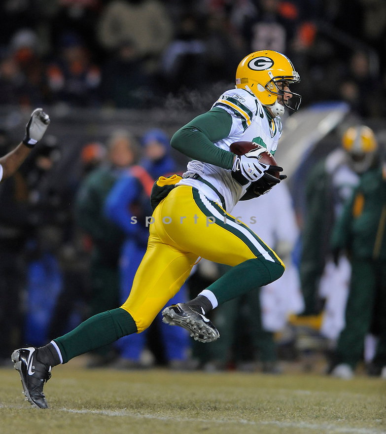 RUVELL MARTIN, of the Green Bay Packers , in action  during the Packers  game against the Chicago Bears on December 21, 2008 in Chicago, IL...Bears win 20-17