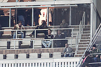 Real Madrid's Cristiano Ronaldo <br /> in the stands