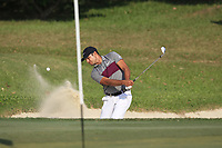 Julian Suri (USA) playing onto the 17th green during Round 4 of the UBS Hong Kong Open, at Hong Kong golf club, Fanling, Hong Kong. 26/11/2017<br /> Picture: Golffile | Thos Caffrey<br /> <br /> <br /> All photo usage must carry mandatory copyright credit     (&copy; Golffile | Thos Caffrey)