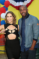 "Allison Holker, Stephen Boss<br /> at the ""Sausage Party"" Premiere, Village Theater, Westwood, CA 08-09-16<br /> David Edwards/DailyCeleb.com 818-249-4998"