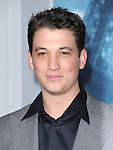 Miles Teller at The Warner Bros. Pictures World Premiere of SHERLOCK HOLMES 2: A GAME OF SHADOWS held at The Village Theatre in Brentwood, California on December 06,2011                                                                               © 2011 Hollywood Press Agency