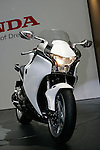 Honda VFR1200F on display during the first press day for the 41th Tokyo Motor Show, 21 October 2009 in Tokyo (Japan). The TMS will be open for the public from 23 October 2007 to 4 November 2009.