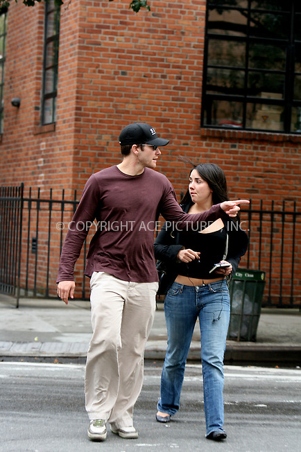 WWW.ACEPIXS.COM ** ** ** ....October 19, 2006, New York City. ....Jake Gyllenhaal sighting in West Village with an unidentified friend.....Please byline: Philip Vaughan -- ACEPIXS.COM.. *** ***  ..Ace Pictures, Inc:  ..Philip Vaughan (212) 243-8787 or (646) 769 0430..e-mail: info@acepixs.com..web: http://www.acepixs.com