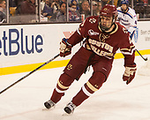 Graham McPhee (BC - 27) The University of Massachusetts-Lowell River Hawks defeated the Boston College Eagles 4-3 to win the 2017 Hockey East tournament at TD Garden on Saturday, March 18, 2017, in Boston, Massachusetts.