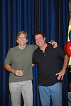 """Guiding Light's  Grant Aleksander """"Phillip"""" and Michael O'Leary at the Daytime Stars and Strikes Charity Event to benefit the American Cancer Society at the Bowlmore Lanes, New York City, New York. (Photo by Sue Coflin/Max Photos)"""