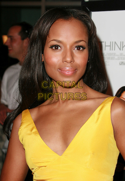 "KERRY WASHINGTON.""I Think I Love My Wife"" Los Angeles Premiere held at ArcLight Cinemas, Hollywood, California, USA..March 7th, 2007.headshot portrait .CAP/ADM/CH.©Charles Harris/AdMedia/Capital Pictures"