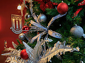 2nd December 2017, bet365 Stadium, Stoke-on-Trent, England; EPL Premier League football, Stoke City versus Swansea City; Christmas at Stoke City