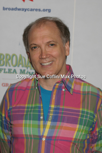 """One Life To Live Charles Busch """"Peg"""" at The 26th Annual Broadway Flea Market and Grand Auction to benefit Broadway Cares/Equity Fights Aids on September 23, 2012 in Shubert Alley and Times Square, New York City, New York.  (Photo by Sue Coflin/Max Photos)"""