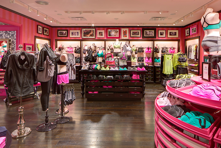 Victoria's Secret Vancouver, BC Flagship Store   The Limited Brands