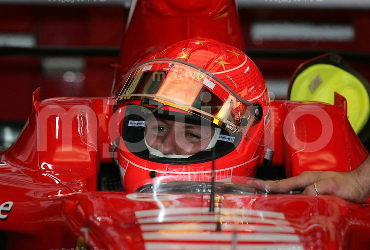 Sport Formel 1 Grand Prix von Brasilien in Sao Paulo  20.10.06 Michael Schumacher (GER, Ferrari)