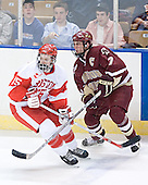 John McCarthy, Peter Harrold - The Boston College Eagles defeated the Boston University Terriers 5-0 on Saturday, March 25, 2006, in the Northeast Regional Final at the DCU Center in Worcester, MA.