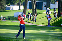 Jon Rahm (ESP) on the 2nd during the first round of the WGC Bridgestone Invitational, Firestone country club, Akron, Ohio, USA. 03/08/2017.<br /> Picture Ken Murray / Golffile.ie<br /> <br /> All photo usage must carry mandatory copyright credit (&copy; Golffile | Ken Murray)