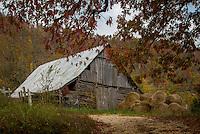 An old barn on Hwy 74 near Jasper Arkansas along the Buffalo National River.