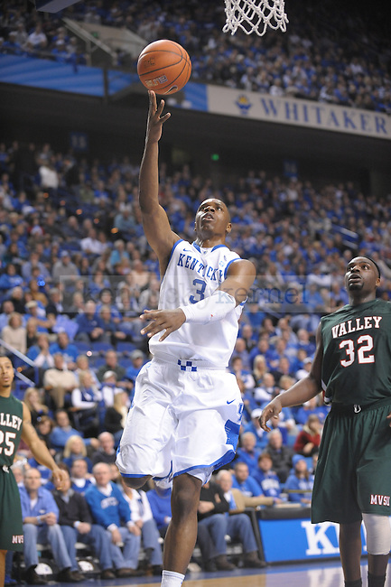 UK's Terrence Jones laying it up during the second half of the University of Kentucky Men's basketball game against Mississippi Valley State at Rupp Arena in Lexington, Ky., on 12/18/10. Uk won the game 85-60. Photo by Mike Weaver | Staff