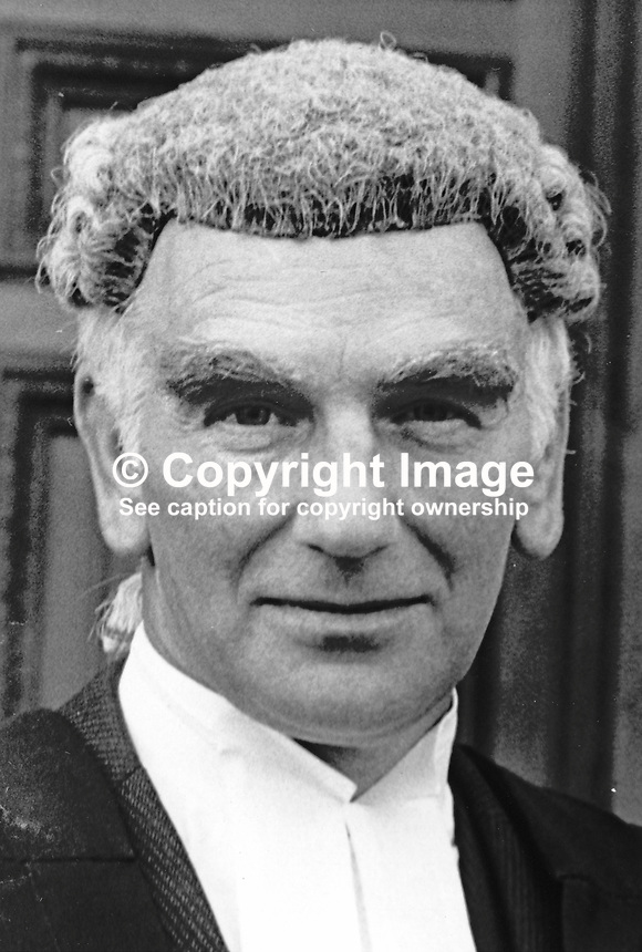 Kenneth Mills, barrister, Rep of Ireland, called to the N Ireland Bar June 1976. 197606000408<br />