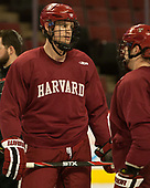 Adam Baughman (Harvard - 20) - The Harvard University Crimson practiced at the United Center on Wednesday, April 5, 2017, in Chicago, Illinois.