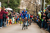 25th March 2018, Barcelona Spain; Volta a Catalunya 2018 Cycling, Stage 7; Tim Declerc of Quick Step TEAM during the stage 7 of la Volta Catalunya