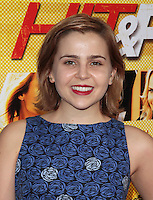 LOS ANGELES, CA - AUGUST 14: Mae Whitman arrives at the 'Hit & Run' Los Angeles Premiere on August 14, 2012 in Los Angeles, California MPI21 / Mediapunchinc /NortePhoto.com<br />