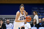 17 November 2016: Duke's Rebecca Greenwell. The Duke University Blue Devils hosted the Grand Canyon University Antelopes at Cameron Indoor Stadium in Durham, North Carolina in a 2016-17 NCAA Division I Women's Basketball game. Duke won the game 90-47.