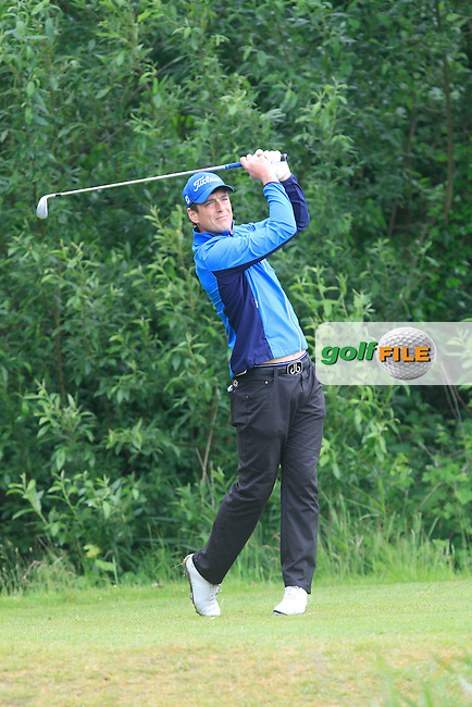 Colin Fairweather (Knock) on the 5th tee during Round 5 of the Irish Amateur Close Championship at Seapoint Golf Club on Tuesday 10th June 2014.<br /> Picture:  Thos Caffrey / www.golffile.ie
